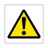 Standard Hazard Sign | Safety-Label.co.uk