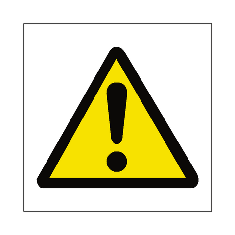 Standard Hazard Sign - Safety-Label.co.uk