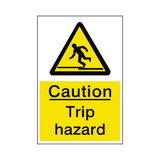 Trip Hazard Sticker | Safety-Label.co.uk
