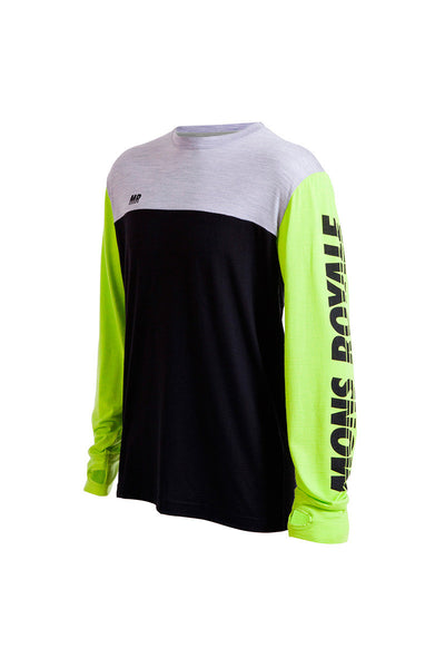 Original LS - Lime / Grey Marl / Black