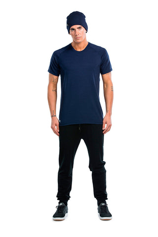 Temple Tech T - Navy