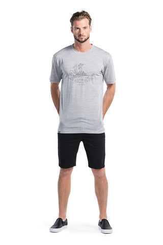 Icon T-Shirt DQ - Grey Marl