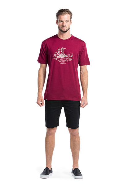 Icon T-Shirt DQ - Plum