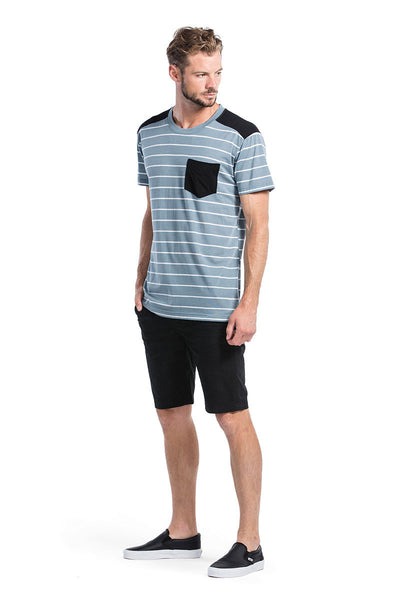 PK Pocket T - BT Lead Stripe / Black