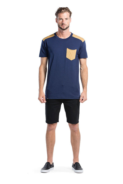 PK Pocket T - Navy / Desert