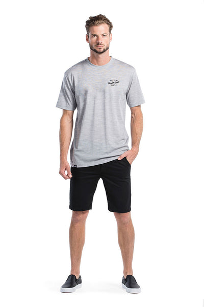 Icon T-Shirt Dirt Small - Grey Marl