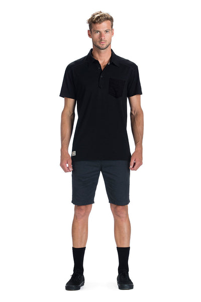 Not Your Dads Polo FTBOTW - Black