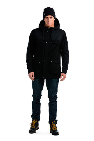 Hero Hoody - Black