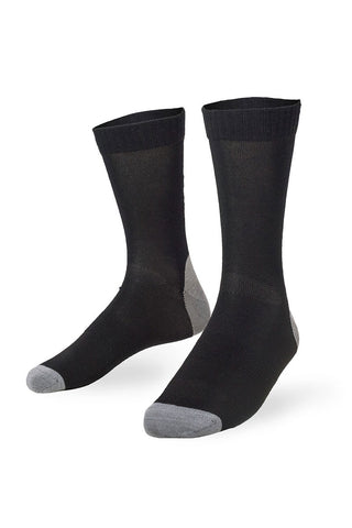 Tech Bike Sock - Black / Grey