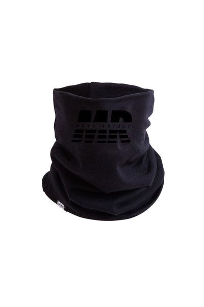 Double Up Neckwarmer - Black
