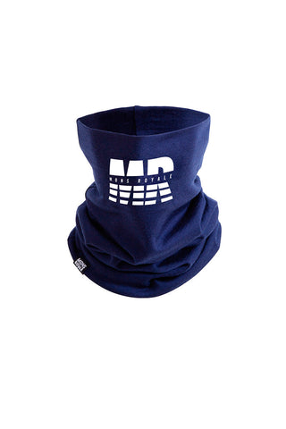 Double Up Neckwarmer - Navy