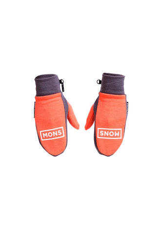 Magnum Mitts - Coral / Charcoal