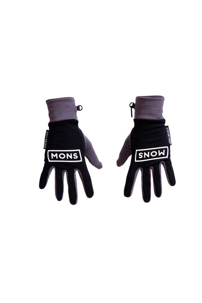 Elevation Gloves - Black / Charcoal