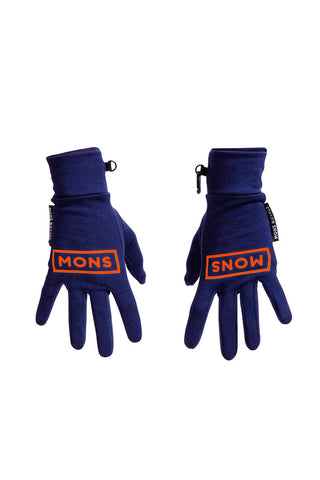 Elevation Gloves - Navy / Spice