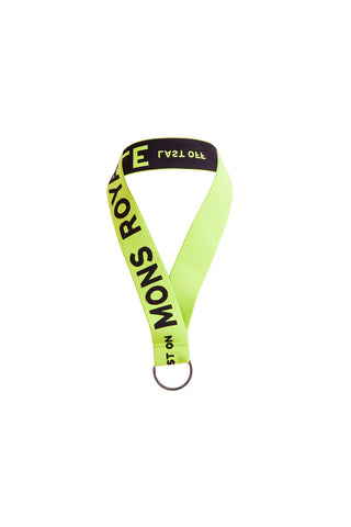 Lanyard - Lime / Black