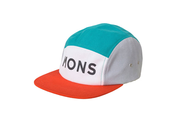 Beattie 5 Panel - Blue Steel / Burnt Orange / Grey