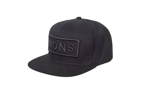 Connor Cap Box Logo - Black