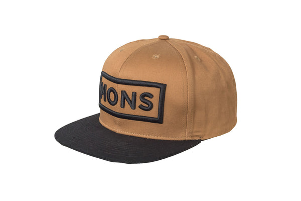 Connor Cap Box Logo - Desert / Black