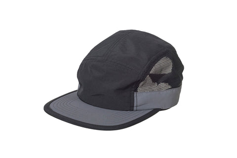 Redwood Mesh Panel Cap - Black / Charcoal