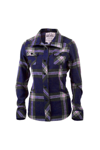 Mountain Shirt - Navy / Charcoal Check