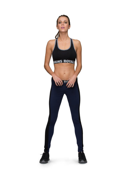 Mid Legging - Black / Navy