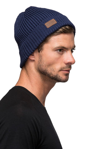 Fishermans Beanie - Navy