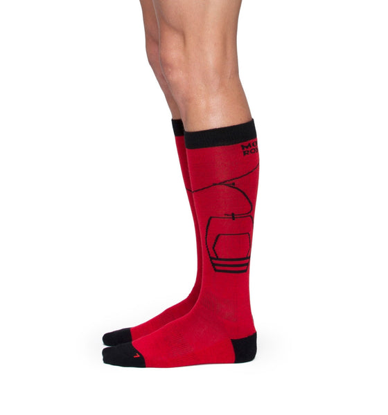 Men's Lift Access Sock - Red / Navy