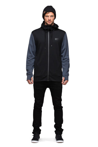 Mid Hit Hoody - Black / Charcoal
