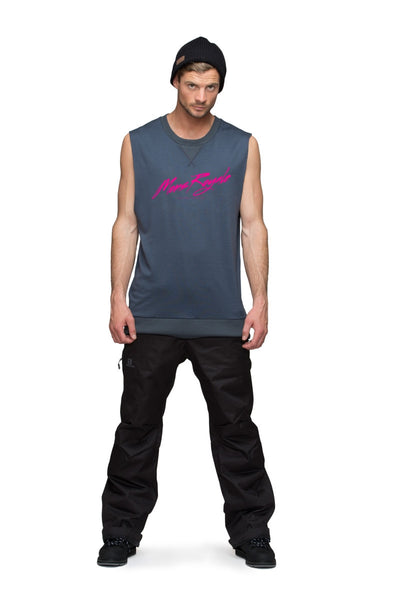 Riders Vest - Hot Pink / Charcoal