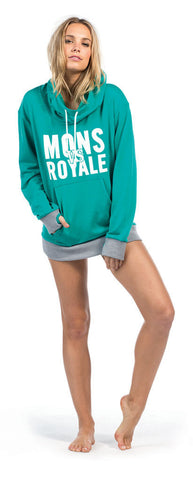 Pullover Hoody - Ice Green