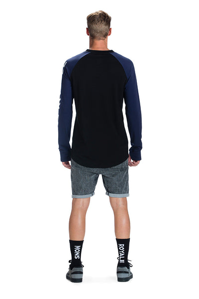 V LS - Black / Navy