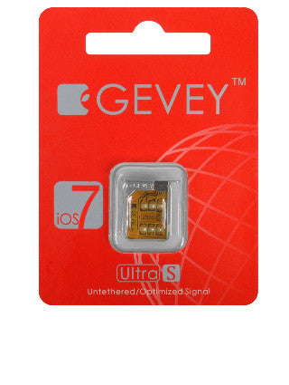 Gevey Ultra-S V2.02 - iPhone 4S ALL iOS Versions