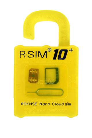 R-SIM 10+ - iPhone SE / 6S / 6 / 5S / 4S up to iOS 10*