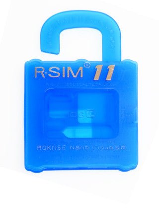 R-SIM 11 - iPhone 5/5S/6/6S and 7 up to iOS 10*