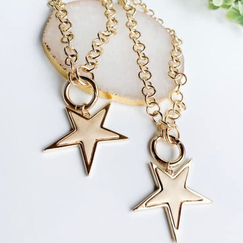 Your A Star Necklace