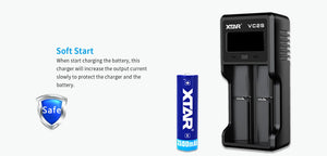 XTAR VC2S Charger/Tester