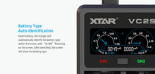 Load image into Gallery viewer, XTAR VC2S Charger/Tester