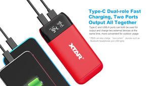 XTAR PB2S Charger/Power bank