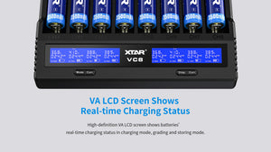 XTAR VC8 Charger/Tester
