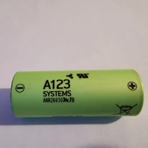 A123 Systems ANR26650 2500mAh (low stock)