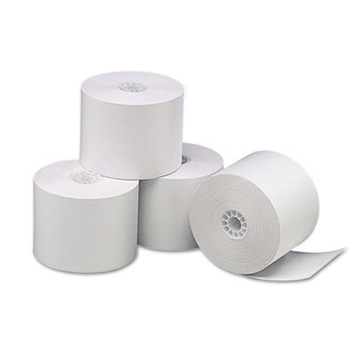 Universal Single-Ply Thermal Paper Rolls, 2-1/4Quot; X 85 Ft, White, 3/Pack