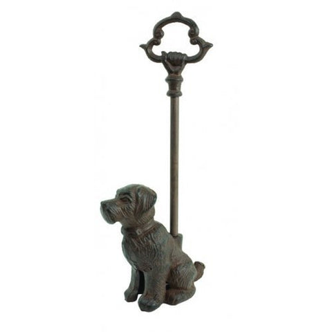 Dog Doorstop Door Porter Scottie Puppy