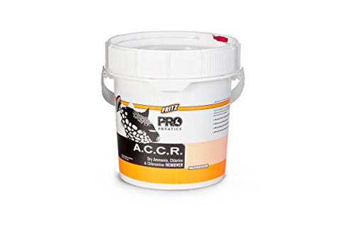 Fritz Pro - A.C.C.R. Concentrated Dry Ammonia, Chlorine And Chloramine Remover - 12Lb