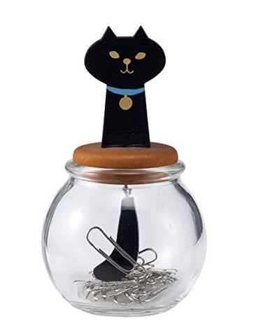 Decole:  Miranda  Cat Tail Clip Bottle (Black Cat) (Japan Import)