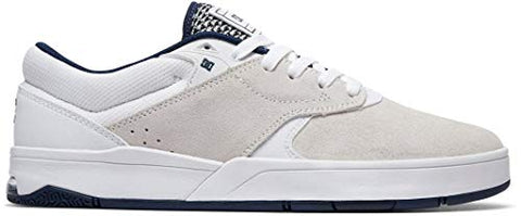 Dc Tiago S Skate Shoes White/Navy Mens Sz 10