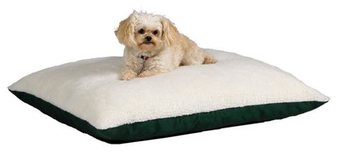 Midwest Quiet Time E'Sensuals Polyfill Pillow Pet Bed 36 Inches By 48 Inches In Hunter Green