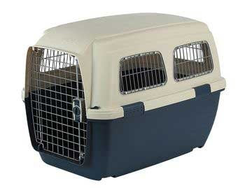 Marchioro Clipper Ithaka 5 Pet Carrier, 32.25-Inches, Tan/Blue