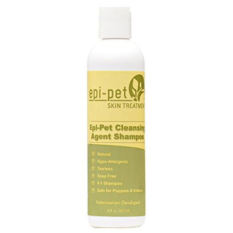 Epi-Pet 80518 Cleansing Agent Pet Shampoo, 8 Oz