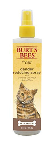 Burt'S Bees For Cats Dander Reducing Spray With Colloidal Oat Flour And Aloe Vera, 10 Ounces