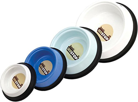Jw Pet Company Skid Stop Basic Pet Bowl, Small, Colors Vary